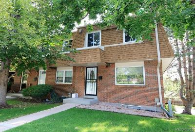 Littleton Condo/Townhouse Under Contract: 5552 South Lowell Boulevard