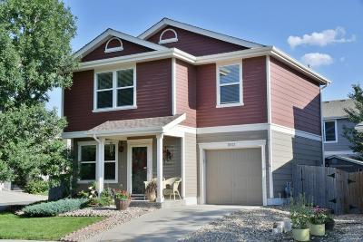 Longmont Single Family Home Under Contract: 10702 Durango Place