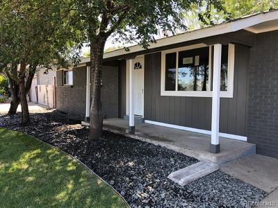 Denver CO Single Family Home Active: $375,000