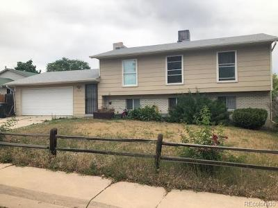 Thornton Single Family Home Under Contract: 9952 Josephine Street
