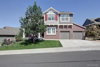 Castle Rock Single Family Home Active: 2668 McLean Court
