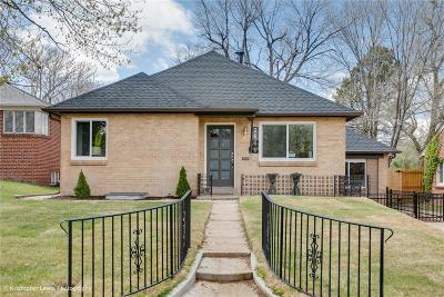 Single Family Home Under Contract: 2661 South York Street