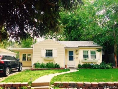 Denver Single Family Home Active: 2720 South Gilpin Street
