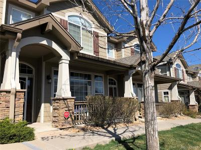 Highlands Ranch Condo/Townhouse Active: 8320 Stonybridge Circle