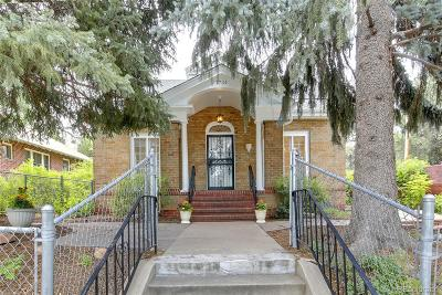 Denver Single Family Home Under Contract: 1734 Bellaire Street
