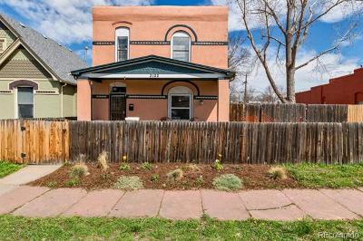 Denver Single Family Home Active: 3122 North Marion Street