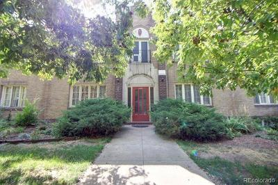 Denver Condo/Townhouse Active: 1285 Josephine Street #9