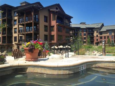 Steamboat Springs Condo/Townhouse Active: 1175 Bangtail Way #5109