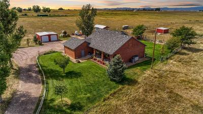 Platteville Single Family Home Active: 16955 County Road 33