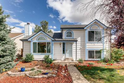 Castle Rock Single Family Home Under Contract: 8 Quicksilver Avenue