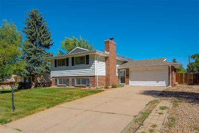Arapahoe County Single Family Home Under Contract: 6216 South Harrison Drive
