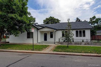 Denver Single Family Home Active: 4102 Osage Street