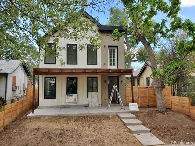 Denver Single Family Home Active: 1906 South Humboldt Street