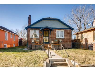Denver Single Family Home Active: 4347 Vallejo Street