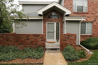 Aurora Condo/Townhouse Under Contract: 3911 South Carson Street #B