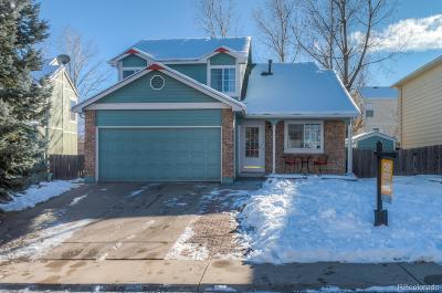 Littleton Single Family Home Under Contract: 11414 West Capri Place