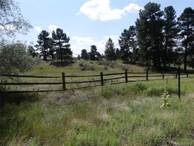 Parker CO Residential Lots & Land Under Contract: $310,000
