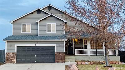 Mead Single Family Home Under Contract: 17333 Margil Road