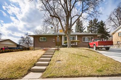 Denver Single Family Home Active: 2743 South Zenobia Street