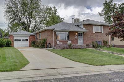 Denver Single Family Home Active: 2555 South Utica Street