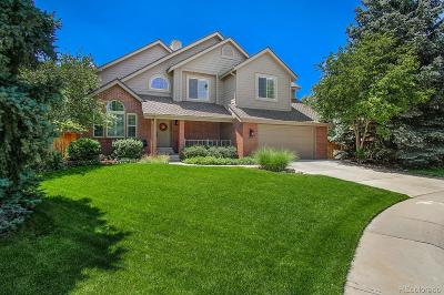 Highlands Ranch Single Family Home Active: 9696 Promenade Place