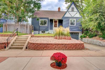 Denver Single Family Home Active: 4835 Newton Street