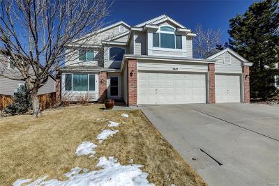 Highlands Ranch CO Single Family Home Under Contract: $510,000