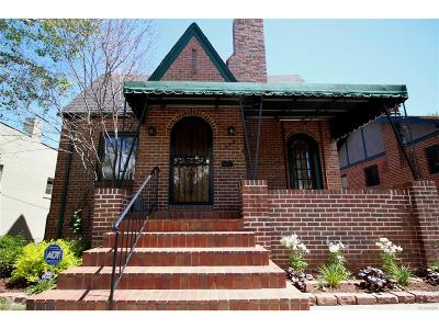 Denver Single Family Home Under Contract: 544 North Lafayette Street