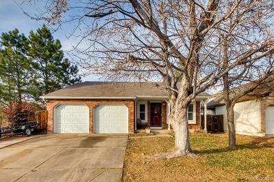 Parker Single Family Home Under Contract: 16761 Blue Mist Circle