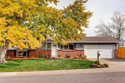 Littleton Single Family Home Active: 136 Olympus Circle