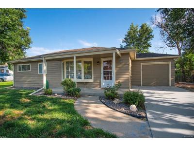 Wheat Ridge CO Single Family Home Active: $375,000