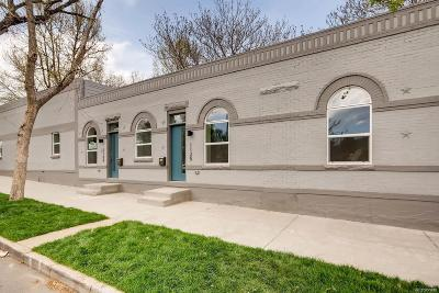 Denver Condo/Townhouse Active: 1125 West 36th Avenue