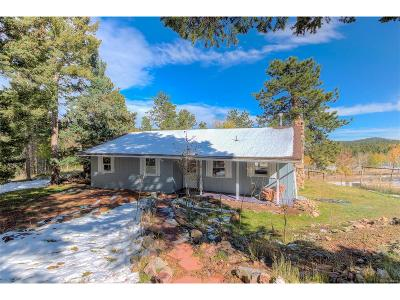Conifer Single Family Home Under Contract: 19693 Silver Ranch Road