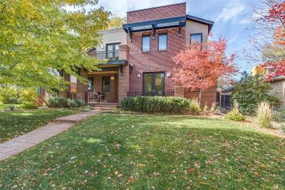 Denver Single Family Home Active: 1125 South Jackson Street