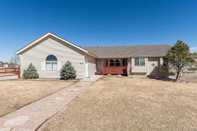 Elbert County Single Family Home Active: 8968 Lariat Loop