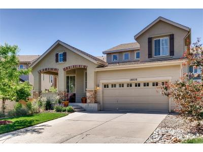 Highlands Ranch Firelight Single Family Home Under Contract: 10850 Trotwood Way