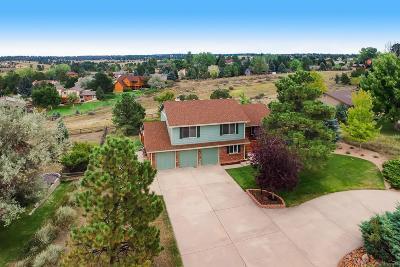 Parker Single Family Home Under Contract: 6900 Hillridge Place