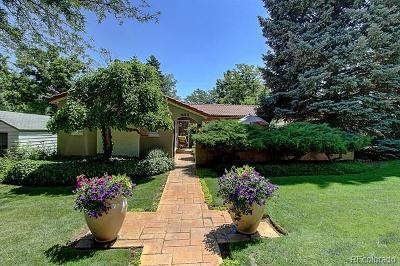 Boulder Single Family Home Active: 850 9th Street