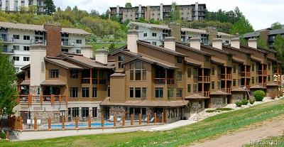 Steamboat Springs Condo/Townhouse Active: 2355 Ski Time Square Drive #125
