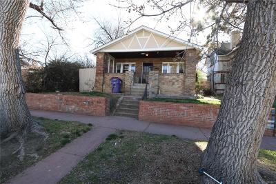 Denver Residential Lots & Land Active: 1362 Newton Street