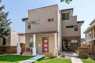 Denver Condo/Townhouse Active: 3730 North Jason Street
