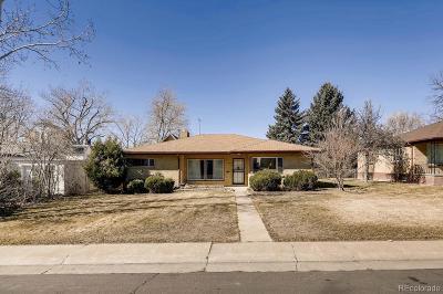 Denver CO Single Family Home Active: $430,000