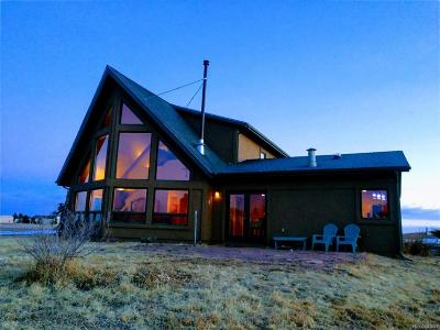 Elbert County Single Family Home Under Contract: 24790 Kolstad Loop