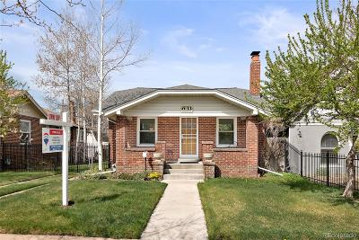 Single Family Home Under Contract: 2033 South Logan Street