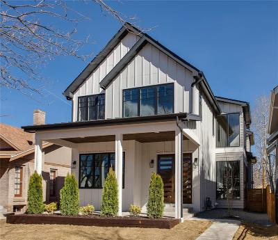 Denver CO Single Family Home Sold: $1,625,000