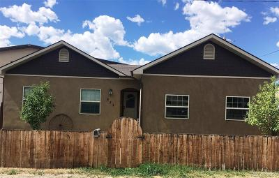 Salida Single Family Home Active: 233 E Thirteenth Street