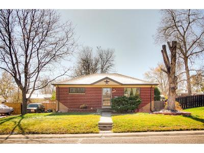 Northglenn Single Family Home Under Contract: 822 Muriel Drive