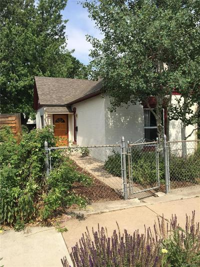 Denver Single Family Home Active: 4437 Yates Street