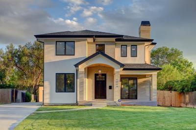 Denver Single Family Home Active: 3069 South Cherry Way