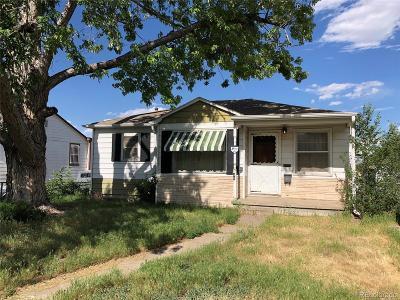 Denver Single Family Home Active: 140 South Bryant Street